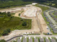 Burgess Civil sitework on Hidden river